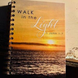 Journal- NEW- Christian Walk in the Light-1 John 1